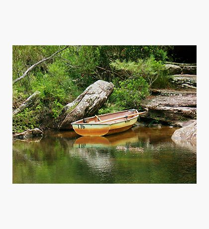 So I Leave My Boat Behind..... Photographic Print