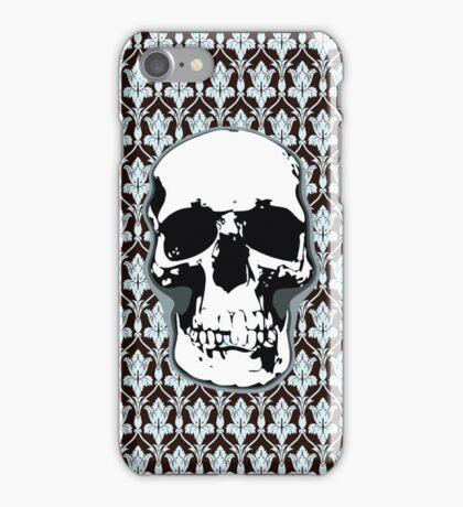 221B Skull Print iPhone Case/Skin