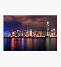 The Amazing Hong Kong Skyline. Photographic Print