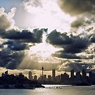 City skyline  by Adriano Carrideo