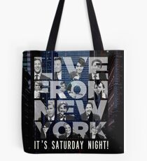 Live From New York, Saturday Night Live Tote Bag