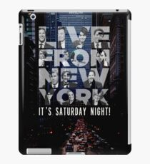 Live From New York, Saturday Night Live iPad Case/Skin