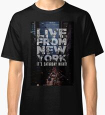 Live From New York, Saturday Night Live Classic T-Shirt