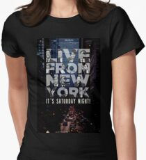 Live From New York, Saturday Night Live Women's Fitted T-Shirt
