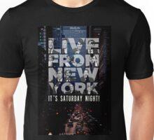 Live From New York, Saturday Night Live Unisex T-Shirt