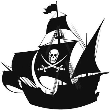 pirate ship by Eskridge