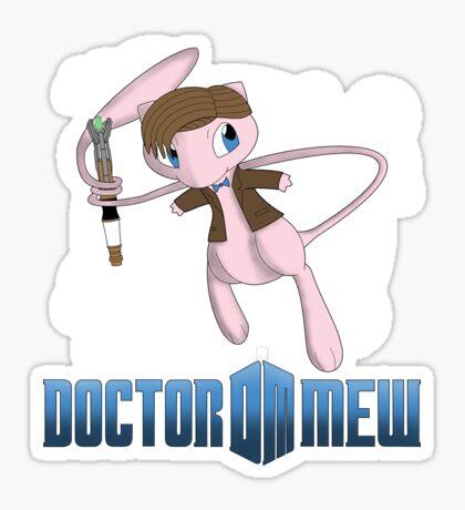 Doctor Mew Sticker