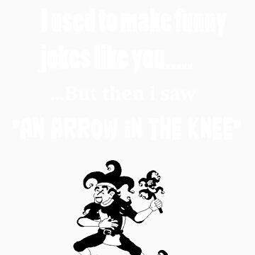 Arrow in the Knee by AJScarlett