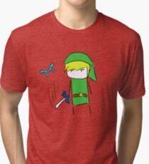 Hey! Lis- *slice* Tri-blend T-Shirt