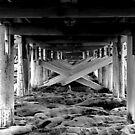 Bare Island - Under the bridge by miroslava