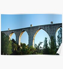 Aqueduct of the Free Waters in Lisbon Poster