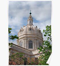 Basilica Da Estrela in Lisbon Poster
