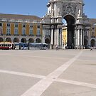 Commerce Square in Lisbon by luissantos84