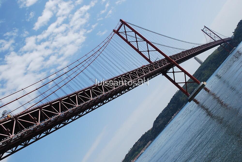 25th April bridge in Lisbon by luissantos84