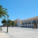 Famous square in Cascais by luissantos84