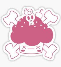 Evil Cupcake of DOOM! Tee shirts Sticker