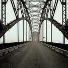 Bridge on Po' River - Italy by Luca Renoldi