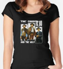 The Good, The Bad, and The Ugly Women's Fitted Scoop T-Shirt