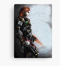 Our Commander Shepard Canvas Print