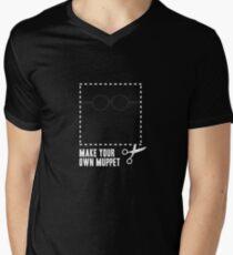 Make Your Own Muppet - Prof. Bunsen Mens V-Neck T-Shirt