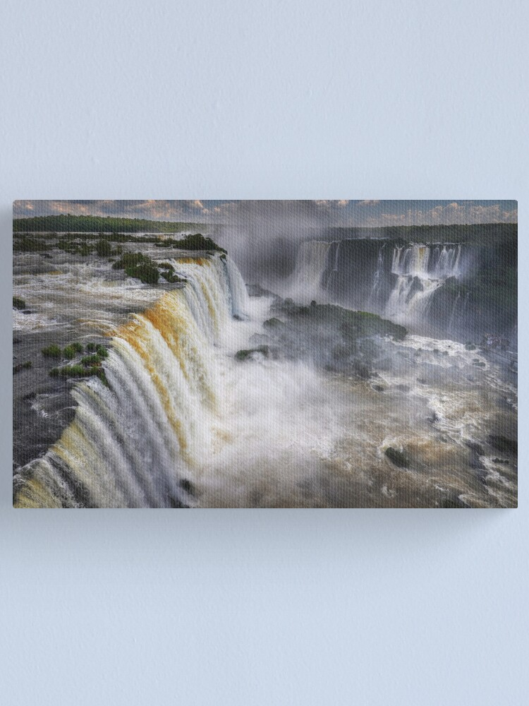 Alternate view of Waterfall Maelstrom Canvas Print