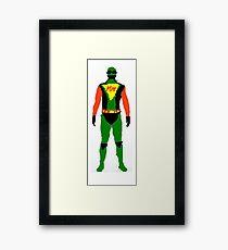 Mighty Man Framed Print