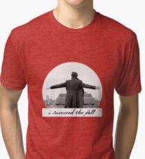 I Survived The Fall Tri-blend T-Shirt