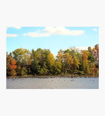 Green Lane Reservoir - East Greenville PA  - USA Photographic Print