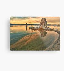Sunrise at Mono Lake Metal Print
