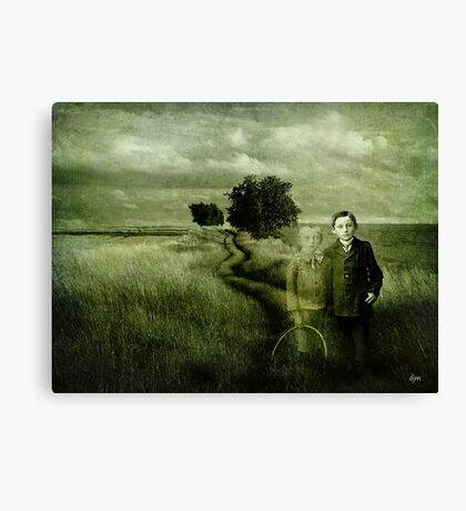 Sometimes We Can't Hang On Canvas Print