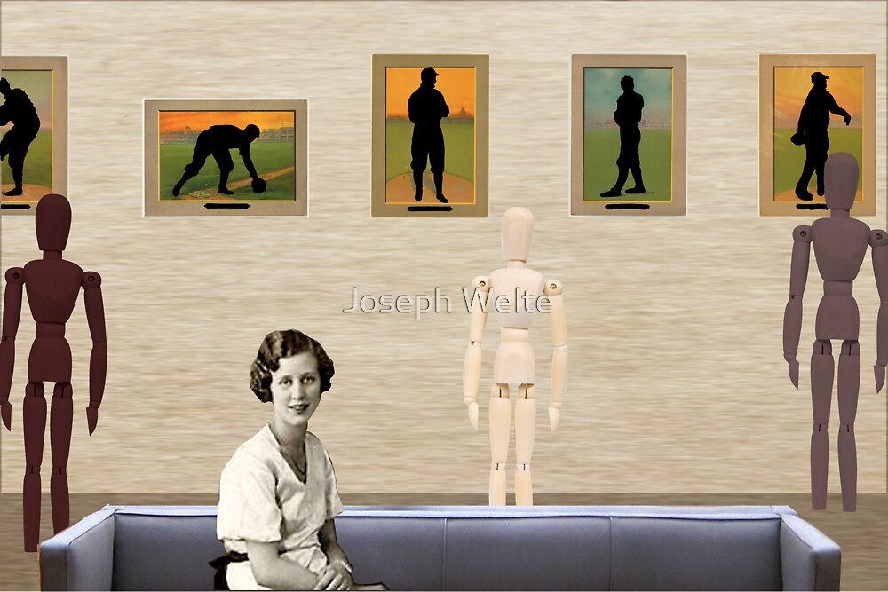 A Day At The Gallery (Tribute To Hamilton) by Joseph Welte