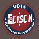 Vote Edison 2012 by johnbjwilson