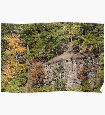 The Cliffs - Green Lane Reservoir - Green Lane PA - USA Poster