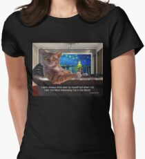 The Most Interesting Cat Women's Fitted T-Shirt