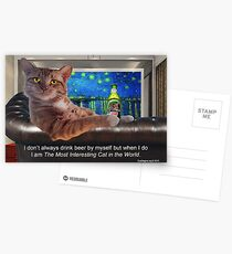 The Most Interesting Cat Postcards