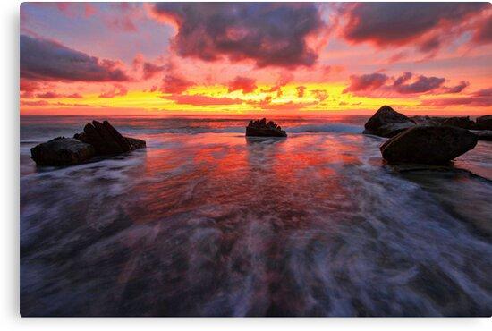 Between the rocks by Arfan Habib