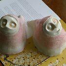 Pink patterned Little breaths by Belin