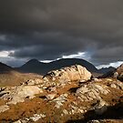 High Contrast - Beinn Alligin from Diabaig, Fisherfield & Torridon by ScotLandscapes