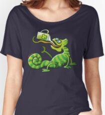 Saint Patrick's Day Chameleon Women's Relaxed Fit T-Shirt