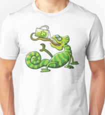 Saint Patrick's Day Chameleon Unisex T-Shirt
