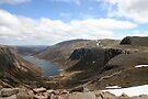 Crag bound Loch Avon, Cairngorm & Monadhliath by ScotLandscapes