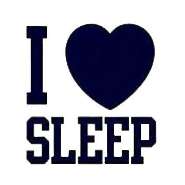 I <3 Sleep by keroquesilva