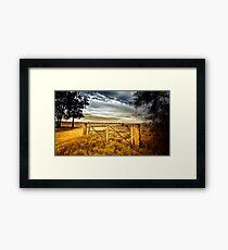 Road to Tara Framed Print