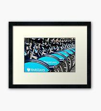 Boris Bike Blues Framed Print