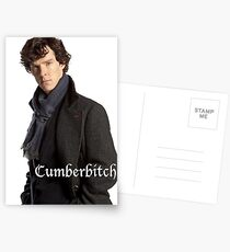 Cumberbitch Postcards