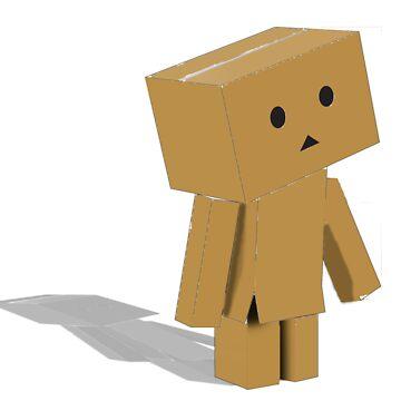 Cardboard Friend by kelly-0491