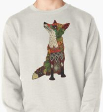floral fox Pullover