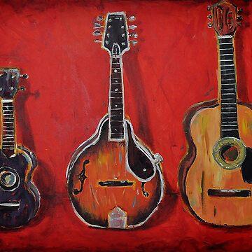 Ukulele - Mandolin - Guitar by meadythebrave