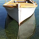 Yellow boat by Goca