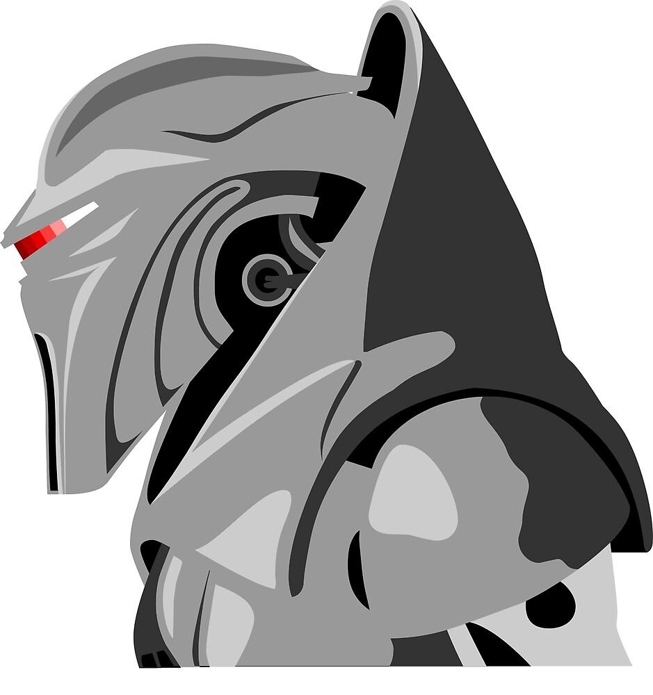 Cylon from Battlestar galactica by Paul Dunkel